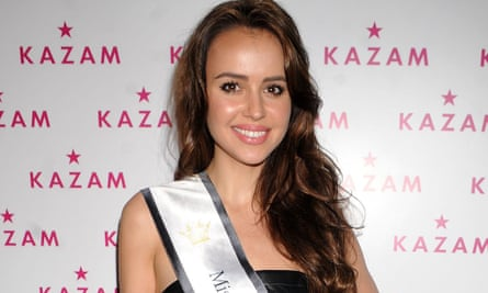 Camilla Hansson, the current Miss Sweden, has quit as brand ambassador of mobile phone maker Kazam