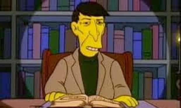 Leonard Nimoy in The Simpsons