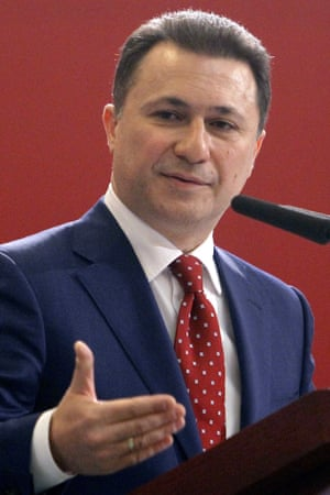 The Macedonian prime minister, Nikola Gruevski, dismissing claims of illegal wiretapping and repeating claims that Zoran Zaev was plotting to overthrow the government.