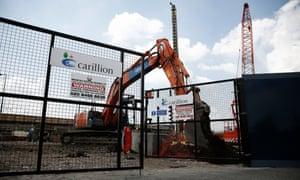 carillion construction site
