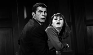 <strong>1964 </strong>Leonard Nimoy and Marianna Hill in The Outer Limits
