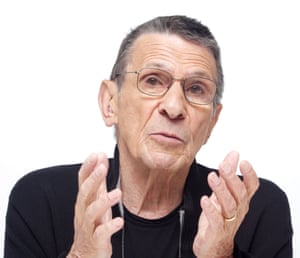 <strong>2009 </strong>Leonard Nimoy promoting Star Trek, Los Angeles CA