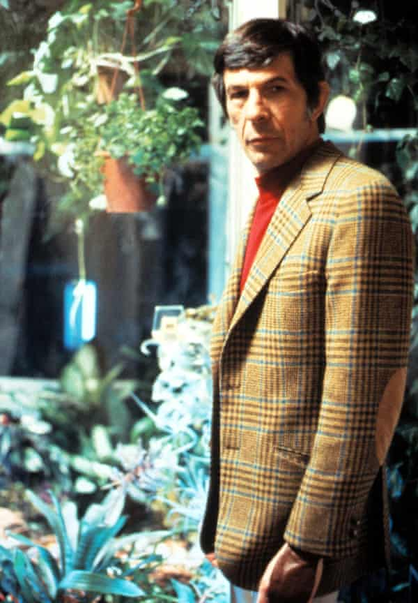 Leonard Nimoy as the corduroy bookstore owner in Invasion of the Body Snatchers.
