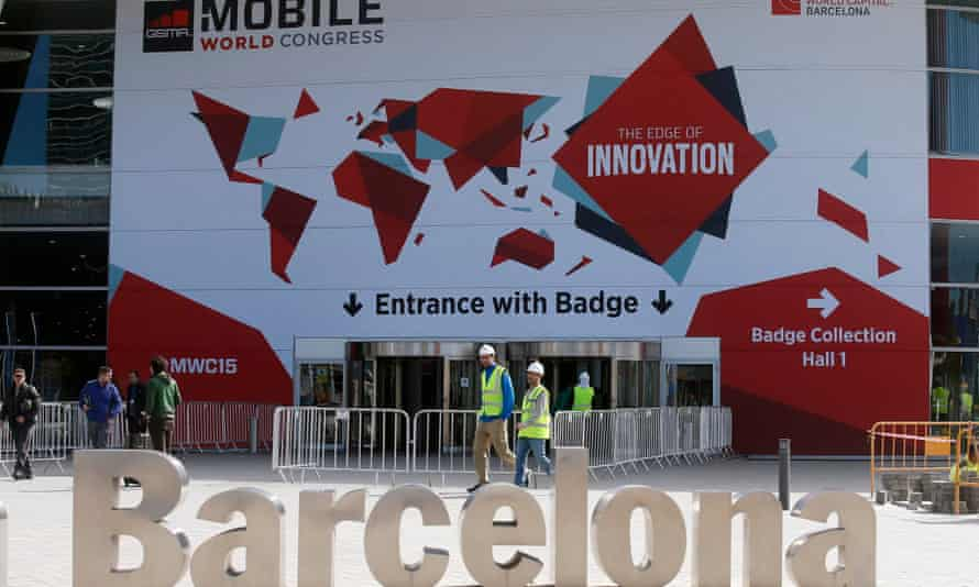 The Mobile World Congress is being held in Barcelona 2-5 March 2015.