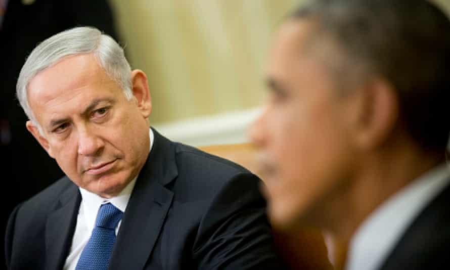 Barack Obama, Binyamin Netanyahu