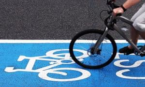 London superhighway cycling, 2010.