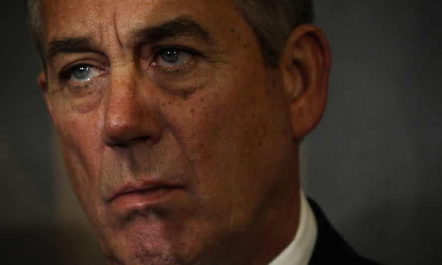 Speaker of the House John Boehner has been trying to prevent the Department of Homeland Security from running out of money,