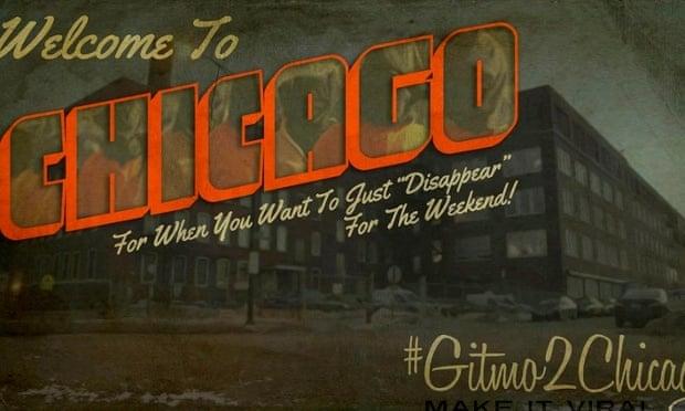 chicago black site postcard