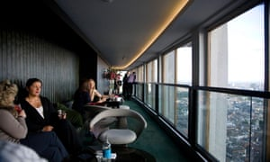 The view from Centre Point's recently-closed Paramount Bar.