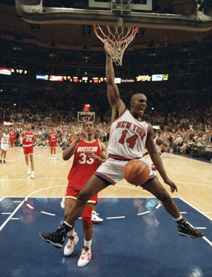 finest selection 1550f 24192 Anthony Mason, New York Knicks and Charlotte Hornets star ...