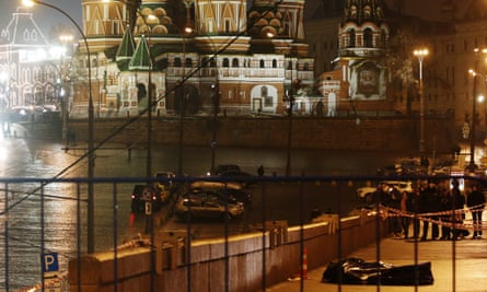 Horror: the brutality of Nemtsov's death, in the shadow of St Basil's cathedral, is too much for many Russians to bear.