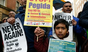 Anti Pegida Rally Newcastle