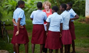 Ann Cotton insists Camfed supports without imposing. 'You can't just go in and throw up a school and expect it all to work,' she says.