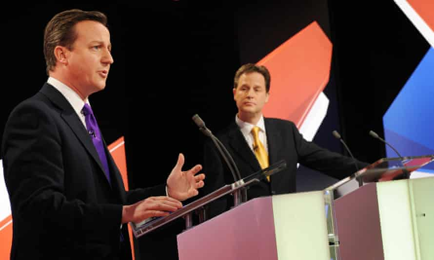 Leaders' TV debates? They love them.