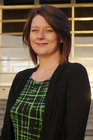 Plaid Cymru new leader Leanne Wood.