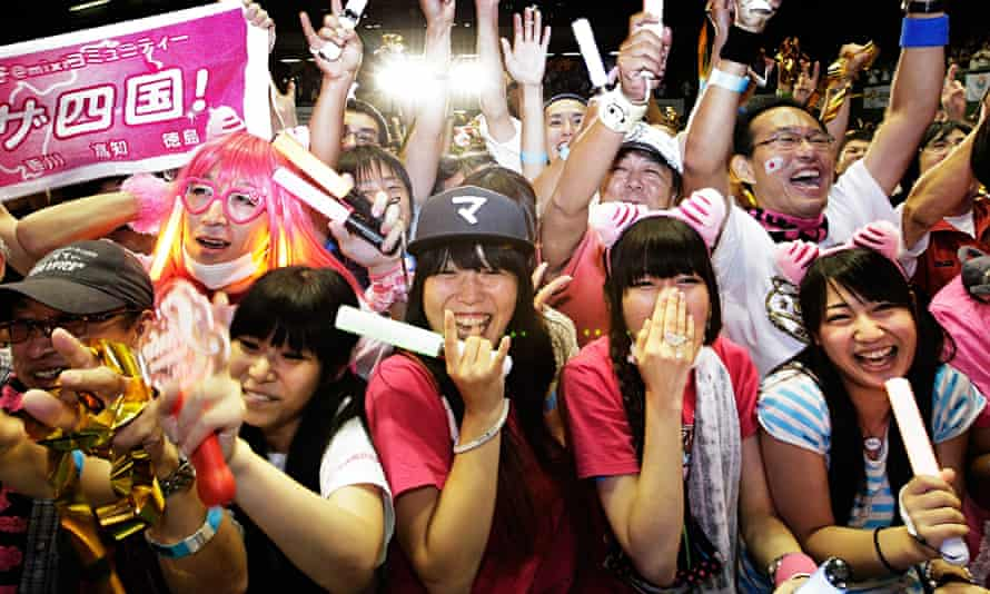 Tokyo residents celebrate Olympic announcement