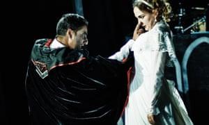 Nick Mohammed, left, in Dracula!