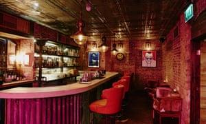 The 64 Below cocktail bar