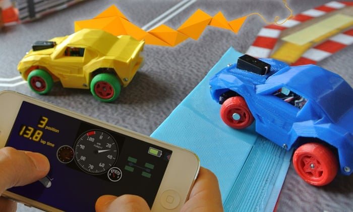 3DRacers seeks funding for Scalextric-style racing toy with 3D