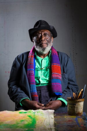 Where I Work Artist Frank Bowling Life And Style The