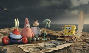 the spongebob movie sponge out of water first look review