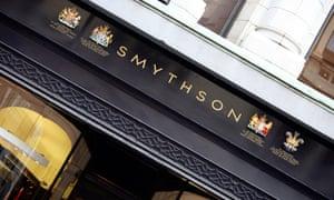 A Smythson store, London.