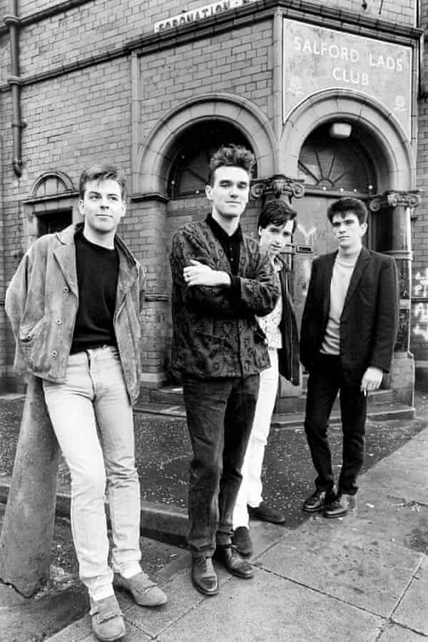 The Smiths at Salford Lads Club.
