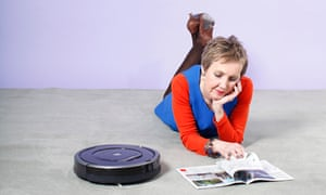 Roomba irobot. Take it easy while the robot does the work.