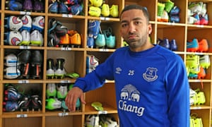 Aaron Lennon insists he is 'excited to join Everton ...