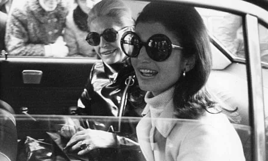 Jackie Kennedy Onassis in a polo neck