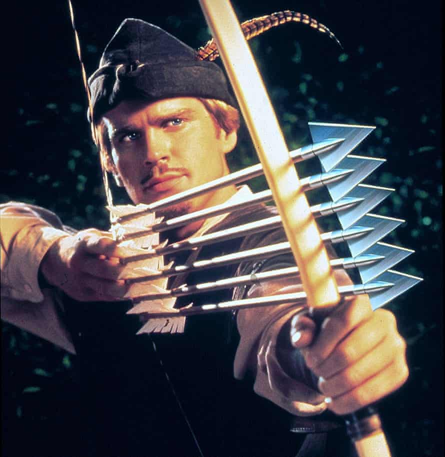 Cary Elwes in Robin Hood: Men in Tights (1993).
