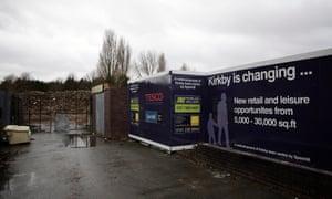 Kirkby Tesco site