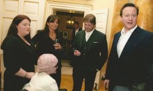 Lucy Glennon, Sean Bean and David Cameron