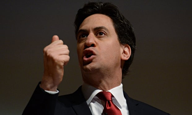 Labour leader Ed Miliband: detractors are only helping the Tories, says W Stephen Gilbert. Photograp