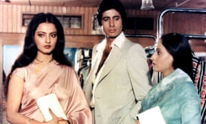 With Rekha in 1981 hit Sislila.