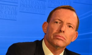 Not happy, Tony Abbott.