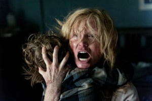 Noah Wiseman and Essie Davis in The Babadook.