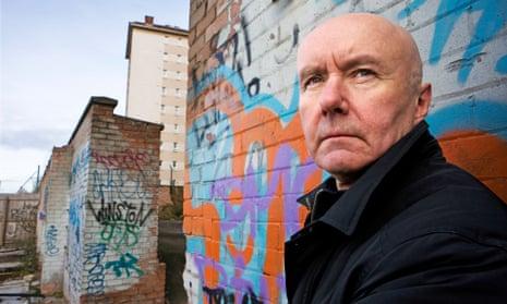 Trainspotting author Irvine Welsh revisits Edinburgh's port area Leith, where he was born.