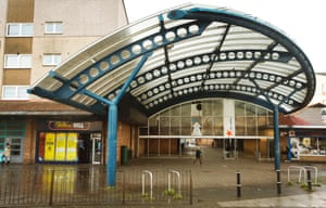 Muirhouse shopping centre, location of the 'Worst Toilet in the World' in Trainspotting.