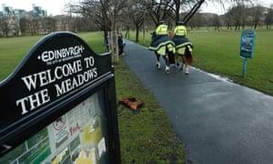 The Meadows in Edinburgh.