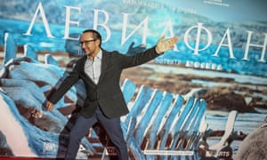 Andrey Zvyagintsev at the Moscow premiere of Leviathan