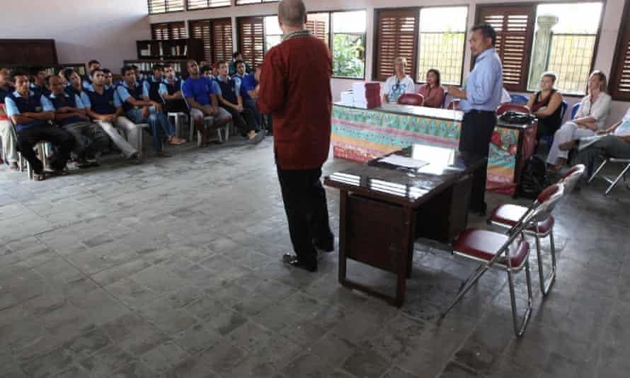 Bali Nine philosophy class