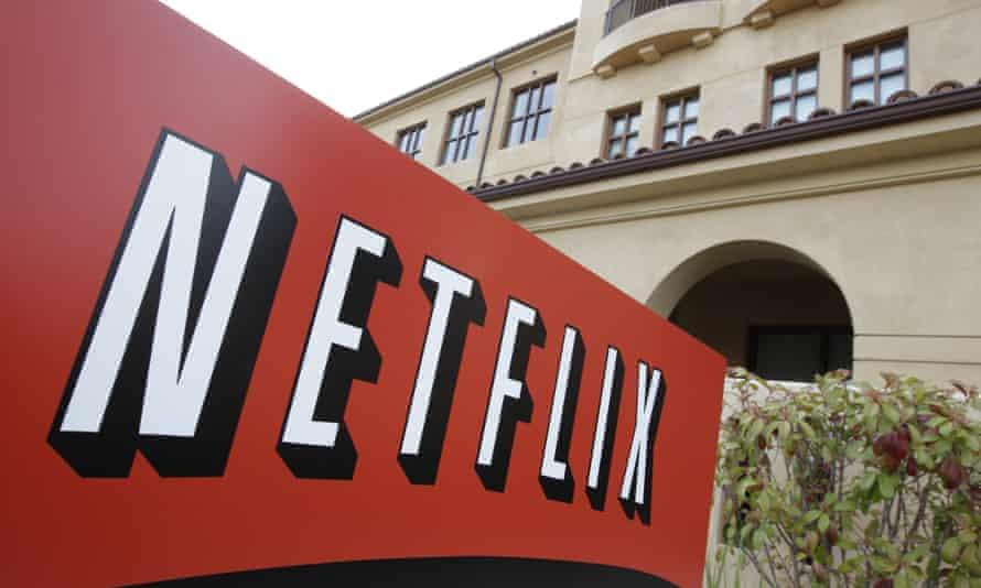 Netfilx headquarters in Los Gatos, California.