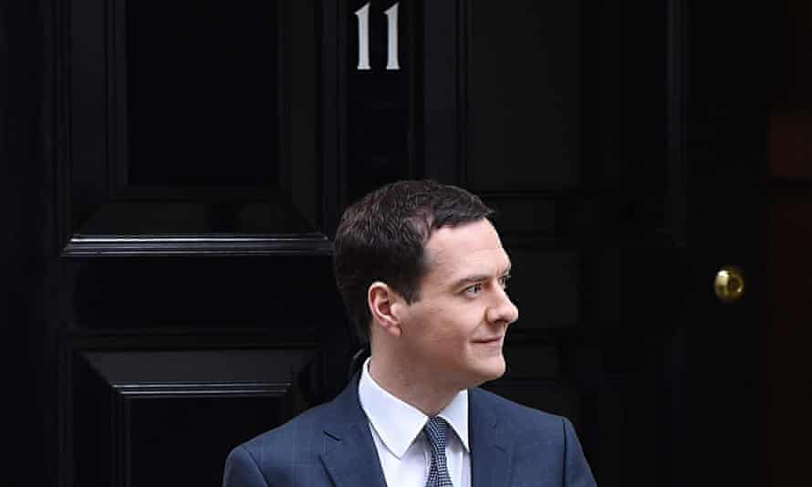 George Osborne, UK chancellor