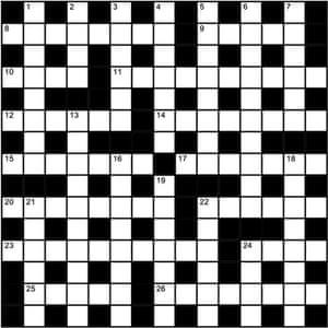 Marsupial  Letters Crossword