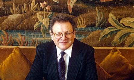 Sir Martin Gilbert in 1995.