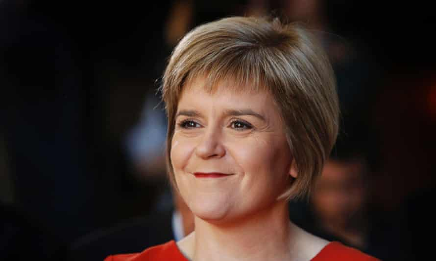 First Minister of Scotland Nicola Sturgeon.