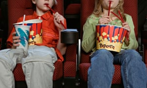 Brits are splashing out on popcorn on trips to the cinema.