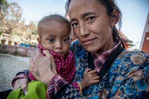 Mother and child nutritional rehabilitation home Nepal