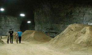 Abandoned Louisville limestone mine turned into bike park